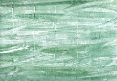 Turquoise green abstract watercolor background stock photo