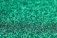 Turquoise Green Blue Sparkle Glitter background. Holiday, Christmas, Valentines, Beauty and Nails abstract texture. Turquoise Green Blue Sparkling Glitter Stock Images