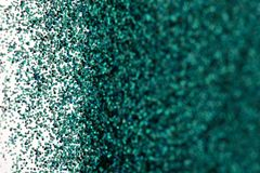 Turquoise Green Blue Sparkle Glitter background. Holiday, Christmas, Valentines, Beauty and Nails abstract texture Stock Photos