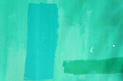Turquoise and green wall texture. Stock Image
