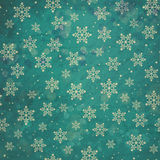 Turquoise grunge winter background Royalty Free Stock Image
