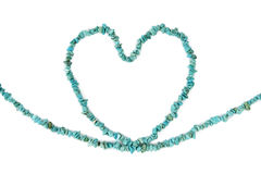 Turquoise Heart Stock Photos