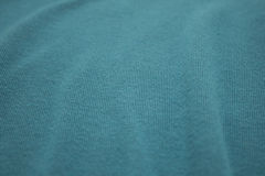 Turquoise hoodie Royalty Free Stock Photography