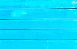 Turquoise horizontal planks Royalty Free Stock Images