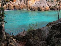 Turquoise inlet Royalty Free Stock Image