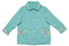 turquoise jacket,  tremendous size Royalty Free Stock Images