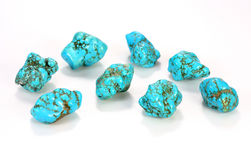 Turquoise Jewel Stock Images