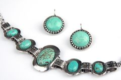 Turquoise jewelery Stock Photos