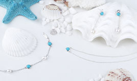 Turquoise Jewellery Royalty Free Stock Photography