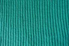 Free Turquoise Knitted Fabric With Vertical Rib Pattern Royalty Free Stock Photos - 96674108