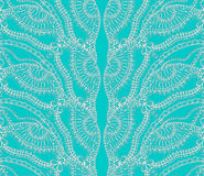 Turquoise lace Royalty Free Stock Images