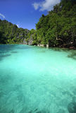 Turquoise lagoon Stock Image