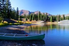 Turquoise lake Stock Photos