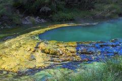 Turquoise lake Stock Image