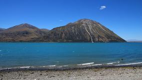 Turquoise Lake Ohau Stock Photo