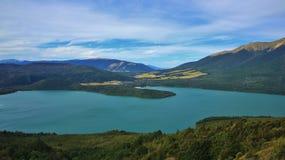 Turquoise Lake Rotoiti Stock Image