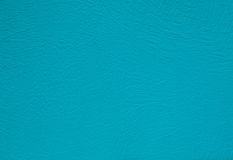 Turquoise leather texture background surface Royalty Free Stock Image