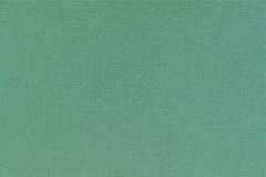 Turquoise linen cloth. Closeup view of texture of the material. Royalty Free Stock Photos