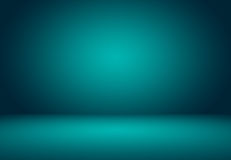 Turquoise lisse avec l'utilisation noire de puits de studio de vignette comme backgrou illustration libre de droits