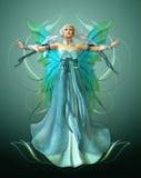 Turquoise Magic stock illustration