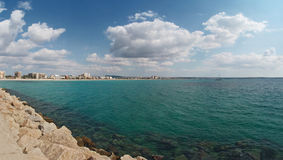 Turquoise Mediterranean sea of Majorca Royalty Free Stock Photo