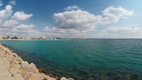 Turquoise Mediterranean sea of Majorca Royalty Free Stock Photo