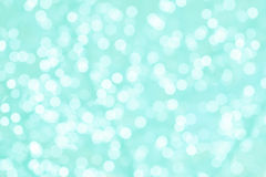 Turquoise and mint romantic background with natural bokeh Royalty Free Stock Photography