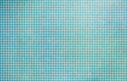 Turquoise mosaic tile Royalty Free Stock Photos