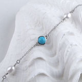 Turquoise Necklace Stock Photography