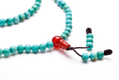 Turquoise necklace Stock Image