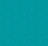 Turquoise Neutral Seamless Pattern for Modern Design in Flat Sty. Le. Tileable Geometric Vector Background Royalty Free Stock Photo