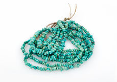 Turquoise Nugget Necklace. Stock Image