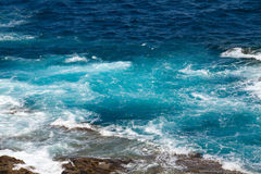Turquoise ocean Royalty Free Stock Photography