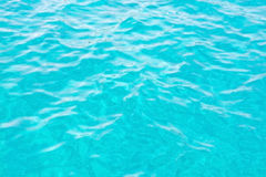 Turquoise ocean water surface Stock Photo