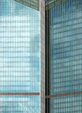 Turquoise office building Royalty Free Stock Photo