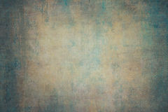 Turquoise orange canvas hand-painted backdrops.  Stock Photo