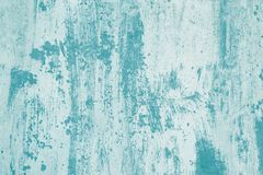 Turquoise paint stains on white canvas. Abstract light green pattern of watercolor. Illustration with turquoise blots on soft back. Ground. Creative artistic stock photography