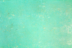 Turquoise paper texture with scratches, stains and abrasions. Abstract background Stock Photography