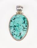turquoise pendante Image stock