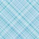 Turquoise plaid Stock Photo