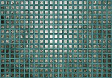 Turquoise Plaid Texture Stock Photo