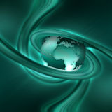 Turquoise Planet Royalty Free Stock Photo