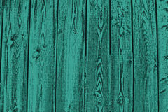 Turquoise planks Stock Photo