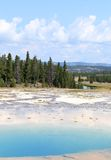 Turquoise Pool, Yellowstone Stock Photos