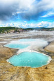Turquoise pools Stock Photography