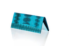 Turquoise purse Stock Photography
