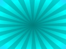 Turquoise rays Royalty Free Stock Images