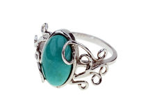 Turquoise ring Stock Photography