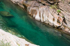 Turquoise river Royalty Free Stock Photos