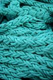Turquoise rope Stock Images